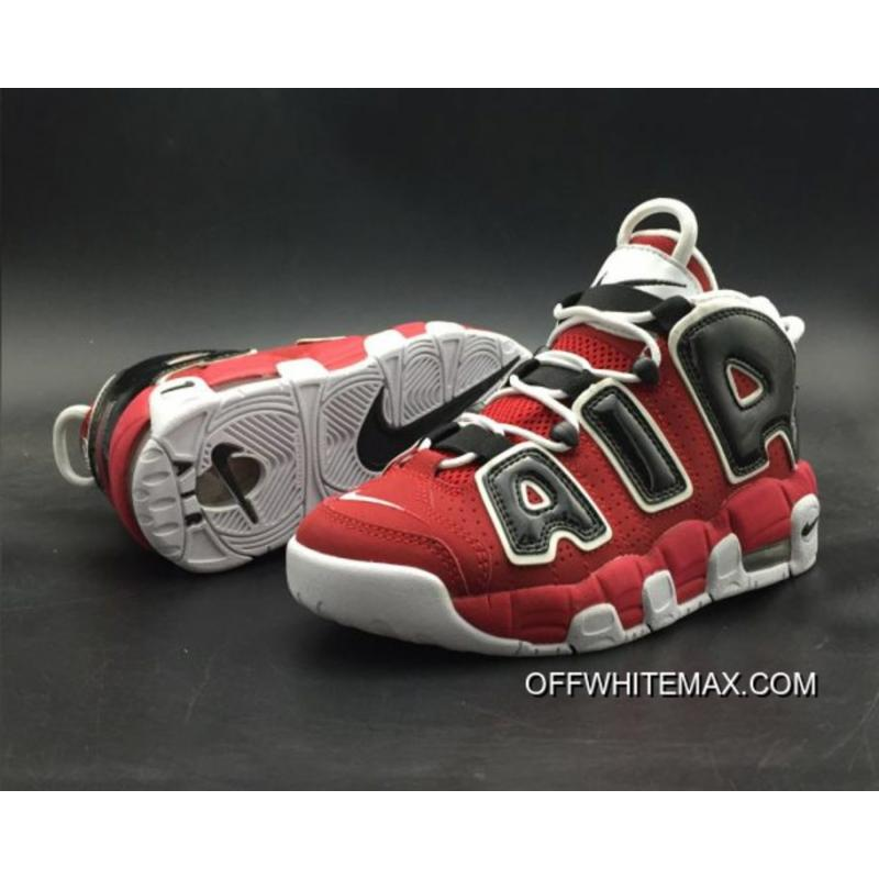 2672310875 Nike Air More Uptempo 'Bulls' Varsity Red And White-Black Free Shipping ...