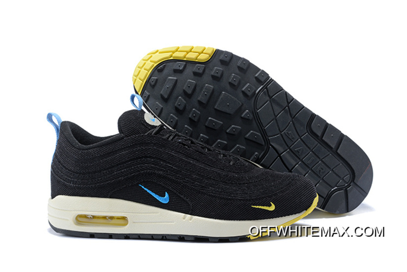 bb7117e6a2cedd Men Nike Air Max 97 X Air Max 1 Sean Wotherspoon SKU 198136-263 New ...