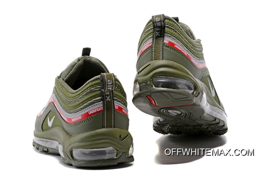 Cheap Undefeated X Air Max 97 OG Olive Green Cool Grey