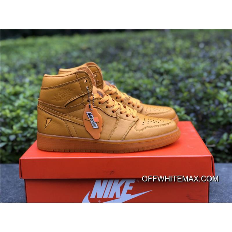 7be7dc715c3 Air Jordan 1 Gatorade Orange Peel Online, Price: $92.14 - OFF-WHITE ...