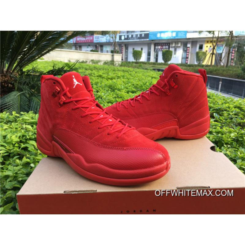 7782fb1c708 Online Air Jordan 12 Red Suede, Price: $76.13 - OFF-WHITE Store, New ...
