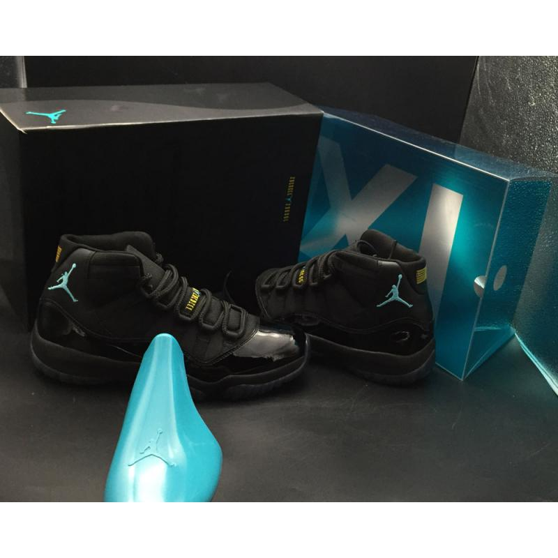 "4ef3be439b1f73 ... Air Jordan 11 Retro ""Gamma Blue"" Black Gamma Blue-Varsity Maize Copuon"