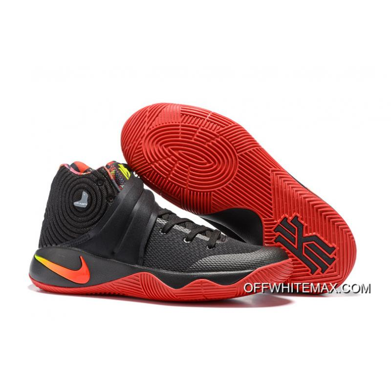 "edfa7263a3cf New Year Deals Girls Nike Kyrie 2 ""Dream"" Black Red ..."