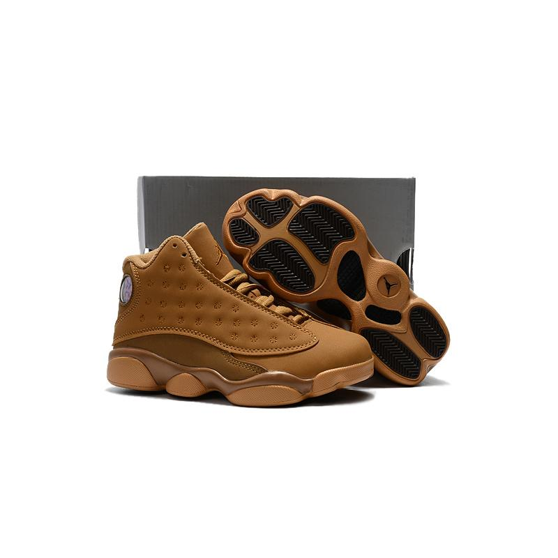 811194ca253 Air Jordan 13 Wheat For Kids New Release, Price: $58.32 - OFF-WHITE ...
