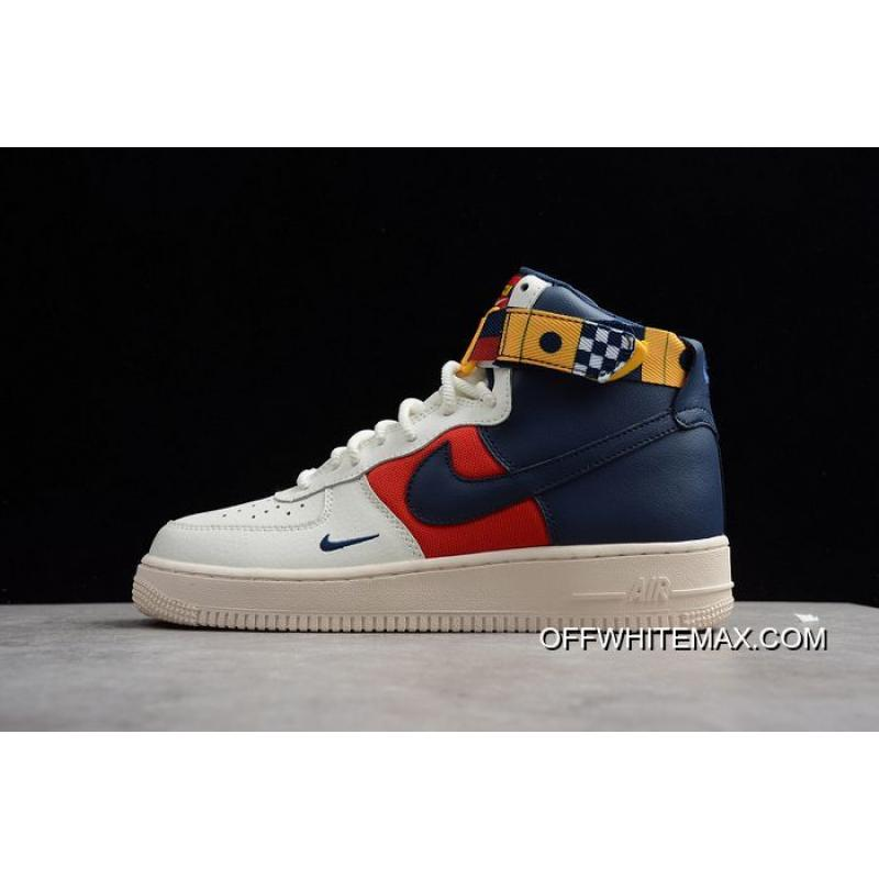 brand new cce5d bcb70 Discount Men Nike Air Force 1 High Basketball Shoe SKU:178251-384