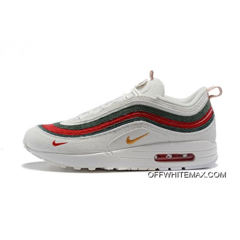 079ce5c28854 Top Deals Men Sean Wotherspoon Nike Air Max 97 Hybrid SKU 78387-321 ...