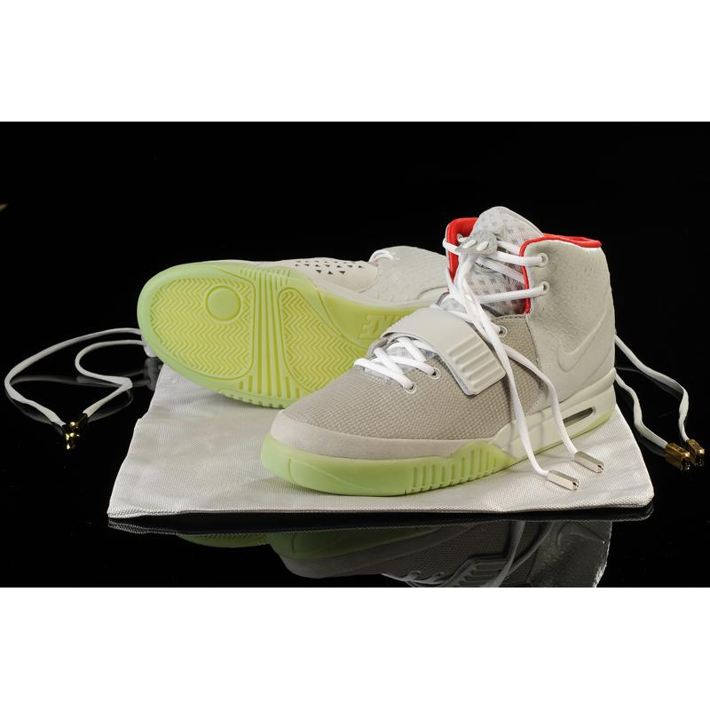 9ea20a533 Discount Glow In The Dark Nike Air Yeezy 2  Wolf Grey Pure Platinum  ...