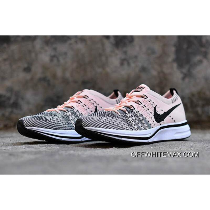 1f06b668039f ... For Sale Nike Flyknit Trainer Sunset Tint And Black-White ...
