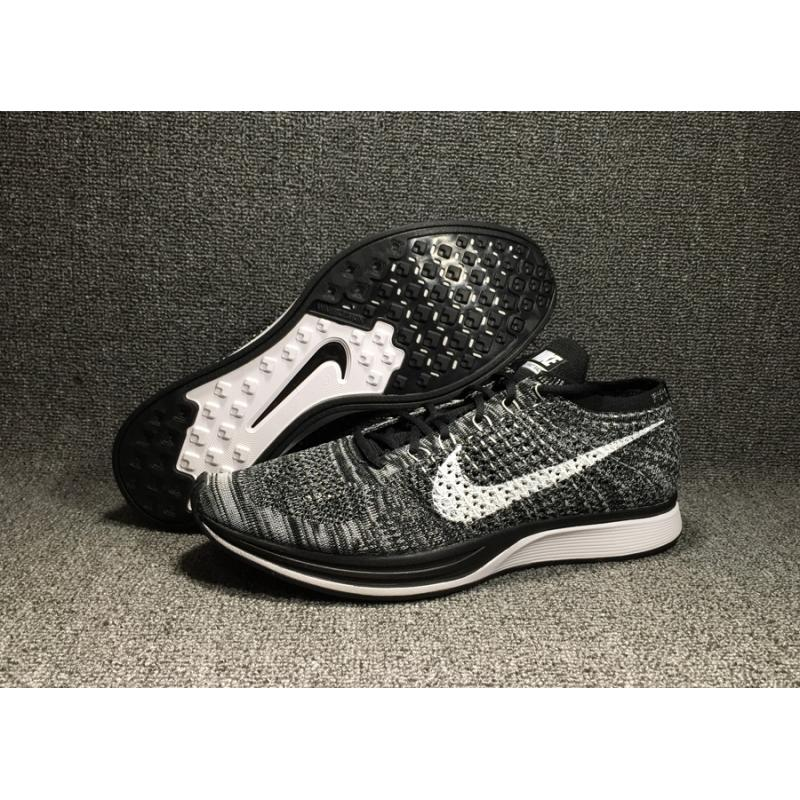 newest collection d340a 21c4e Nike Flyknit Racer  Oreo 2.0  Black White For Sale ...
