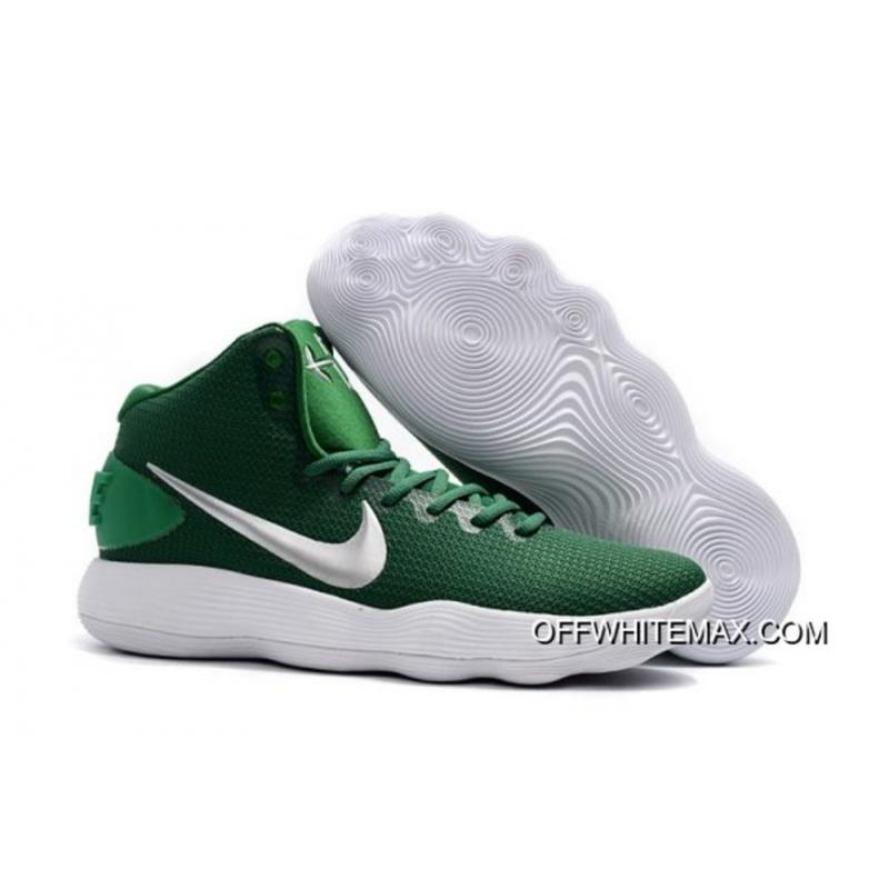 premium selection 1ad95 b2cc7 Discount Nike Hyperdunk 2017 Mid Green White ...