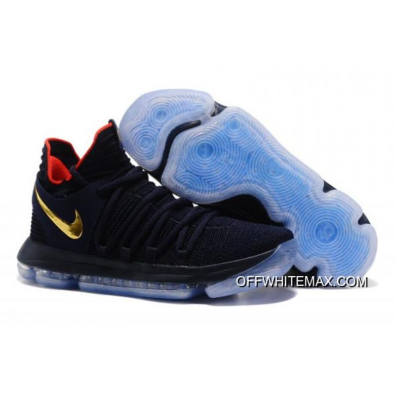 online store 27a75 86c3e Free Shipping Nike KD 10  Olympic  Black Gold ...