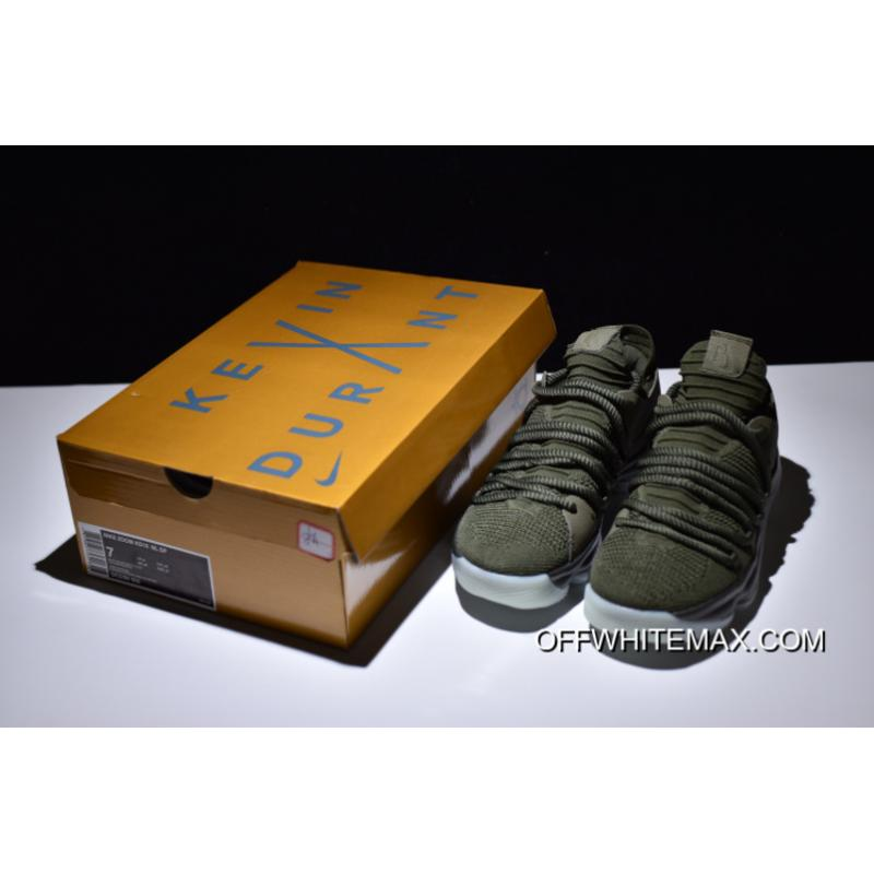 5226799a19a5 ... Best NikeLab KD 10 NL EP Olive And Cargo Khaki-White ...