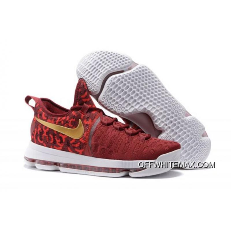 info for d64a8 2eb00 Best Nike KD 9  Rio  Red Gold Men s Basketball Shoes ...