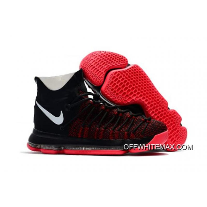 new concept 5effd e4326 Discount Nike KD 9 Elite Black White Red ...