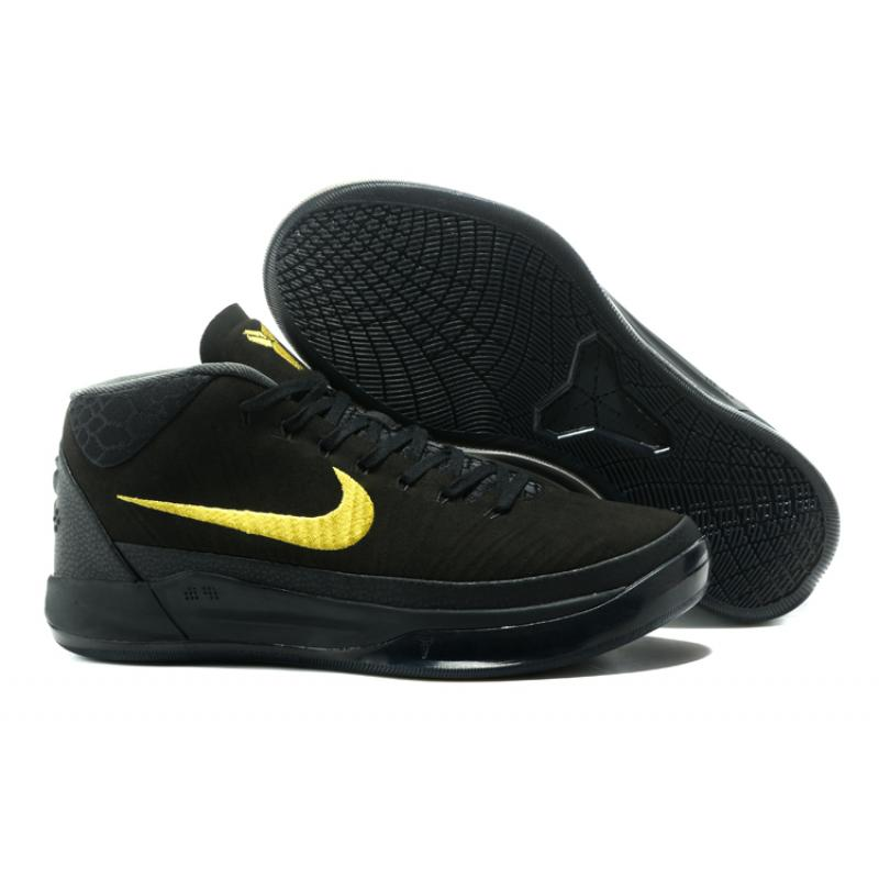 competitive price 3a492 91f6a Best Nike Kobe AD Mid Black Gold ...