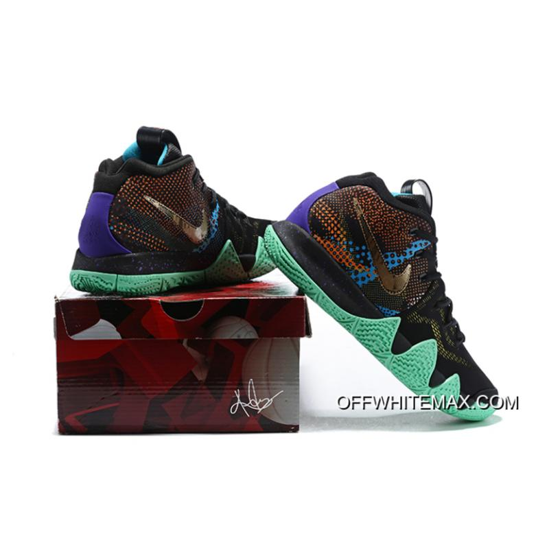 ... Outlet Nike Kyrie 4  Mamba Mentality  Black Sonic Yellow-Purple Venom  ... 8d3d0e792