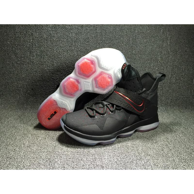 size 40 8cf3a e4d05 Discount Nike LeBron 14  Bred  Black And Black-University Red ...