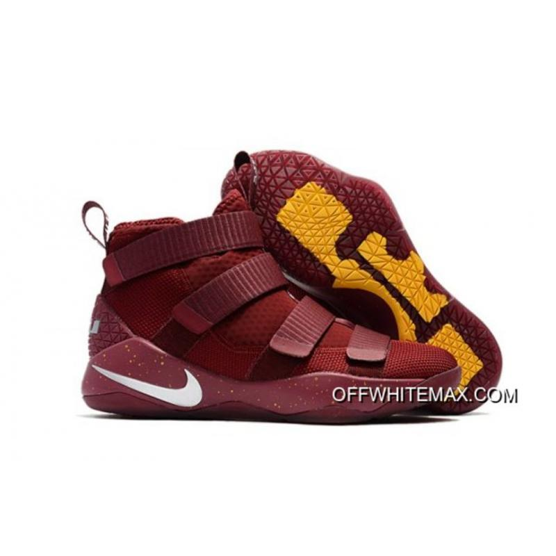 b84a4ceac79 Nike LeBron Soldier 11 PE  Cavs  Red White Top Deals ...