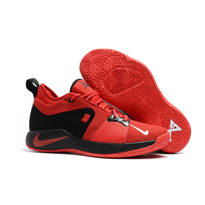 new concept 92794 ff2d9 Discount Nike PG 2 University Red And Black ...