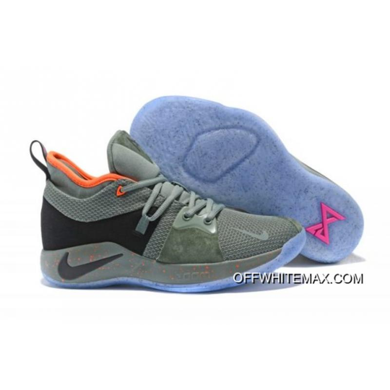 brand new aced2 b4152 Nike PG 2 'All-Star' Clay Green And Black New Release
