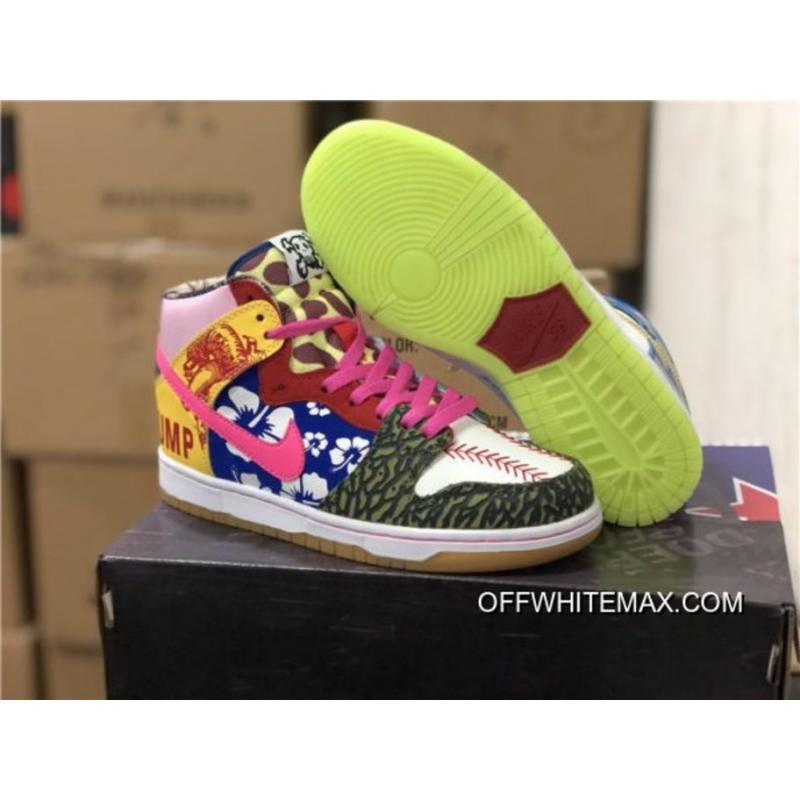 "big sale 6e22e 1c442 Nike SB Dunk High ""What The Thump"" For Sale ..."