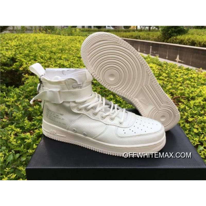 Nike SF-AF1 Mid Triple Ivory Best, Price: $89.30 - OFF-WHITE Store, New OFF- WHITE Shoes - OFFWHITEmax.com