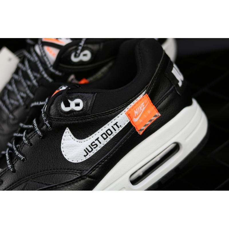 Nike Air Max 1 Low 'Just Do It' Black And White New Release