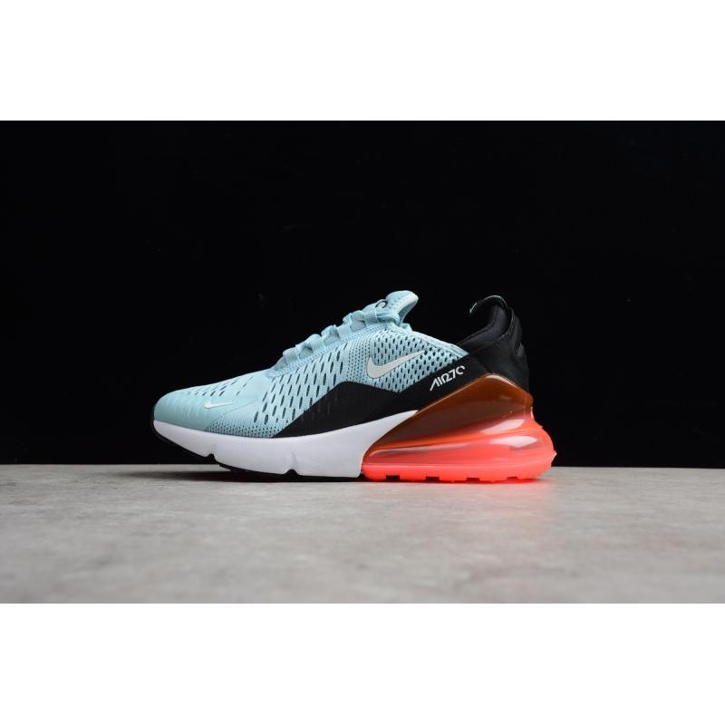 cheap for discount f5ffe 44df3 Discount Nike Air Max 270 Ocean Bliss And Black-Hot Punch
