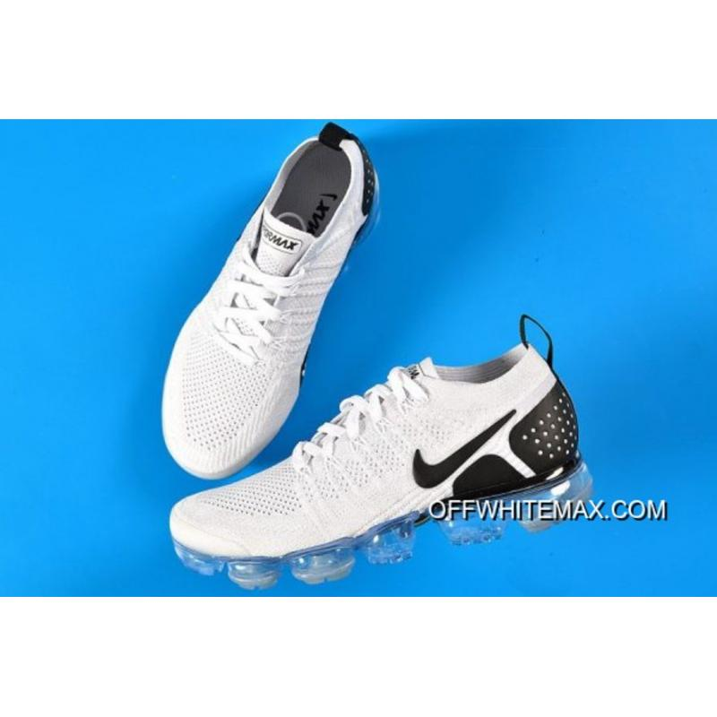 new product 9ed31 aba2f Free Shipping Nike Air VaporMax 2.0 White And Black