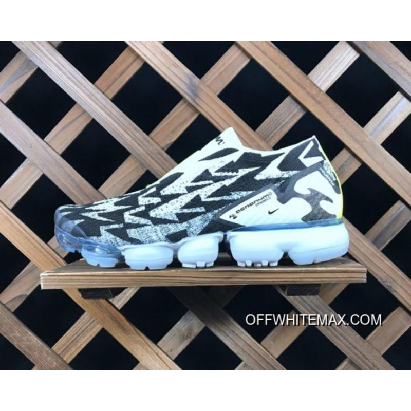 best service d51ea dbc2b Acronym X Nike VaporMax Moc 2 Light Bone And Black Super Dea