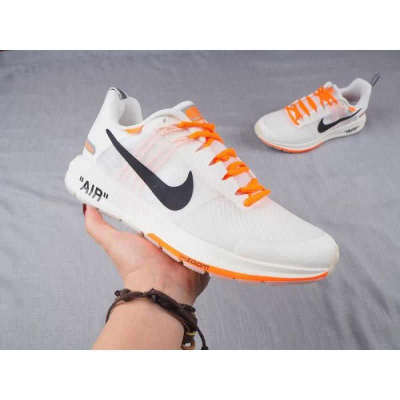 OFF WHITE x Nike AIR ZOOM STRUCTURE Shoes White Men
