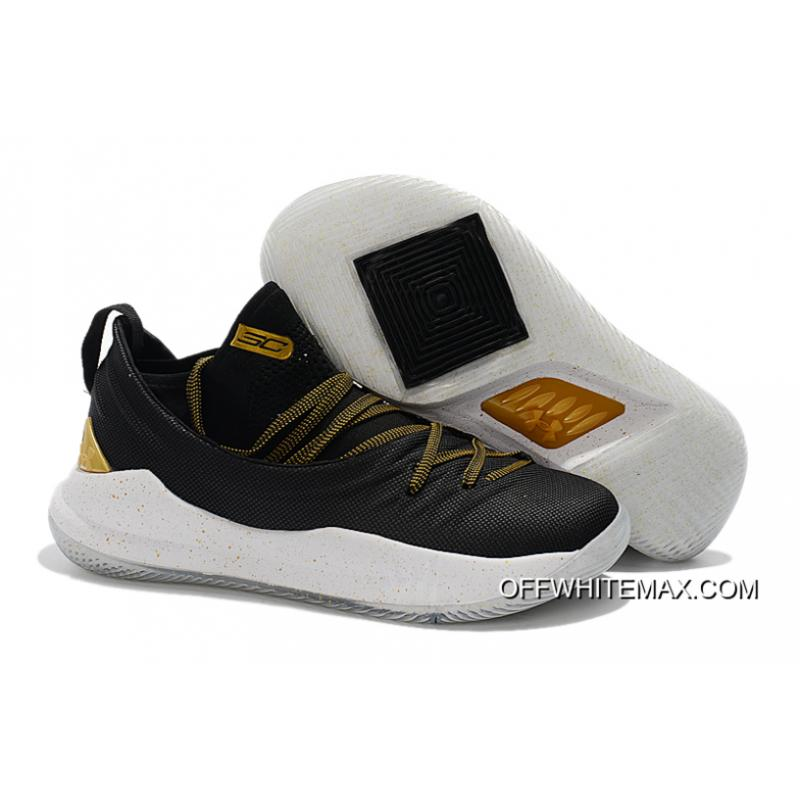 """f67d3ef2ba74 Free Shipping Under Armour Curry 5 """"Championship Pack"""" Black Gold ..."""