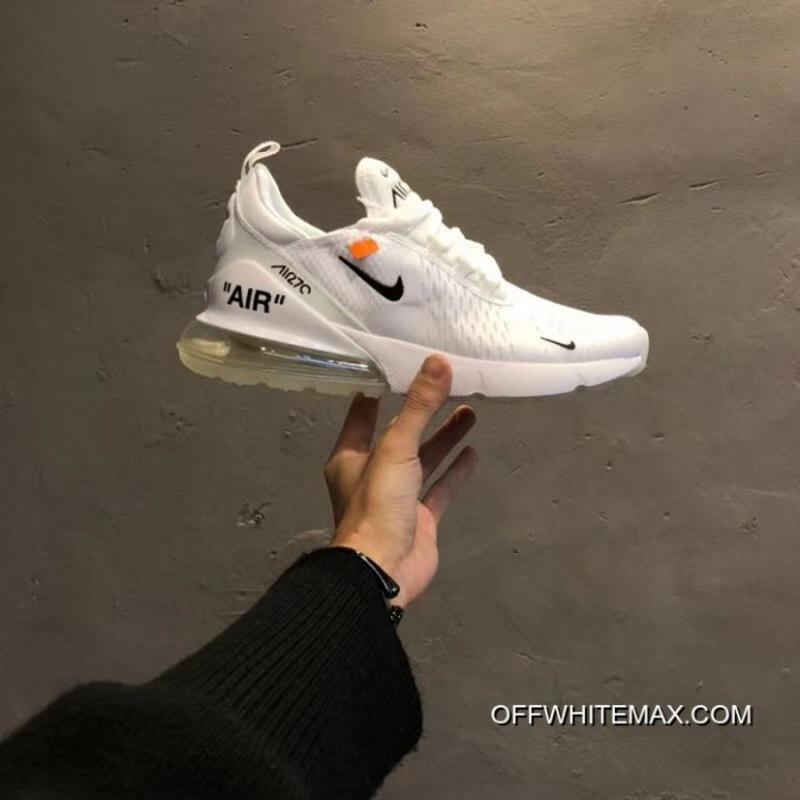 7ef2668c8dd Women Off White X Nike Air Max 270 Sneakers SKU:130785-230 New Release ...