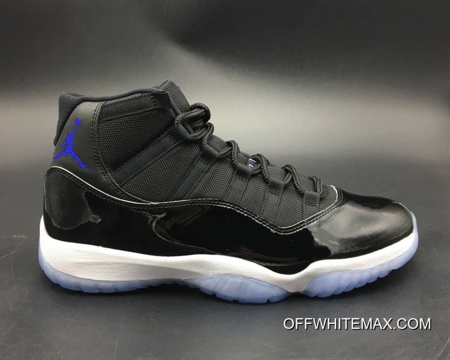 lowest price f3aa8 f7997 Air Jordan 11 Space Jam Black And Dark Concord-White New Style
