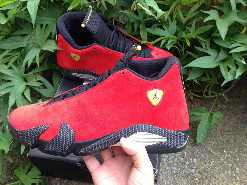 new products 7314c ff6a2 Best Air Jordan 14  Ferrari  Challenge Red And Vibrant Yellow-Anthracite- Black