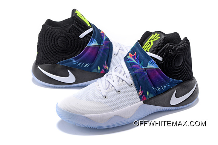 "online retailer 864f4 7a3a1 Girls Nike Kyrie 2 ""Parade"" White/White-Black-Volt Latest"
