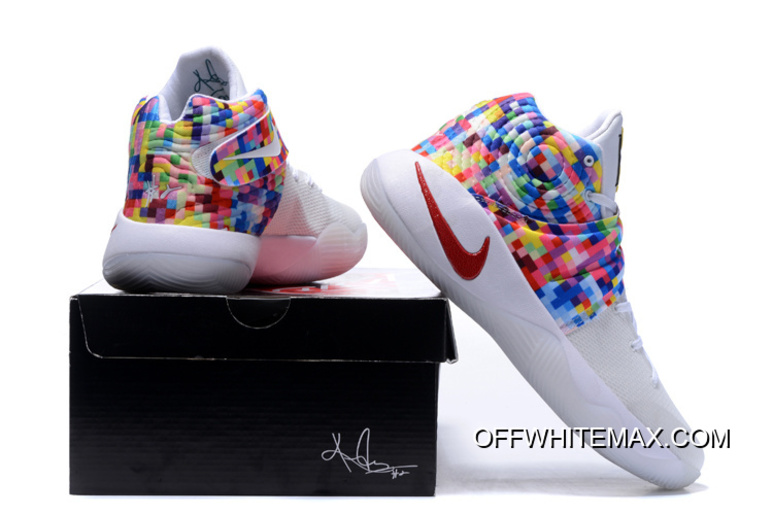 cheap for discount b9f4a 4aa30 ... coupon code for girls nike kyrie 2 effect white red multi color top  deals 360c6 b892c