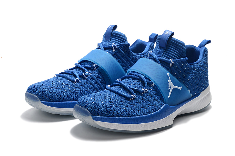 a300a84d2275 Jordan Trainer 2 Flyknit Blue White Super Deals
