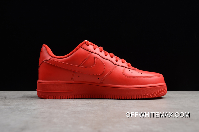 Best Hot! Nike Air Force 1 Low 'Solar Red'