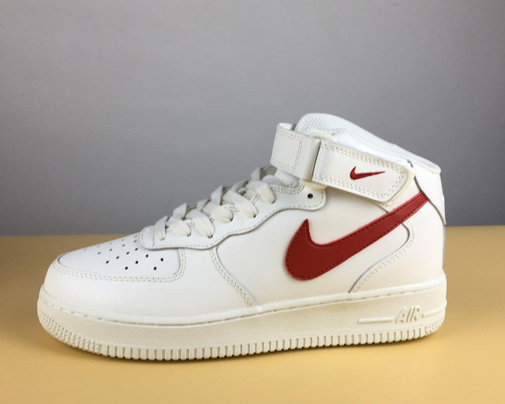Latest Nike Air Force 1 Mid 07 SailUniversity Red, Price