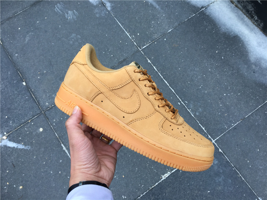 094386cc Air Force 1 Wheat Low On Feet - Wheat Photos and Descriptions