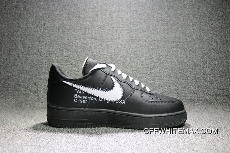 best service f1e10 bdf56 Nike Air Force OFF-WHITE X 1 One To Be Low Brown Leather AA5122-