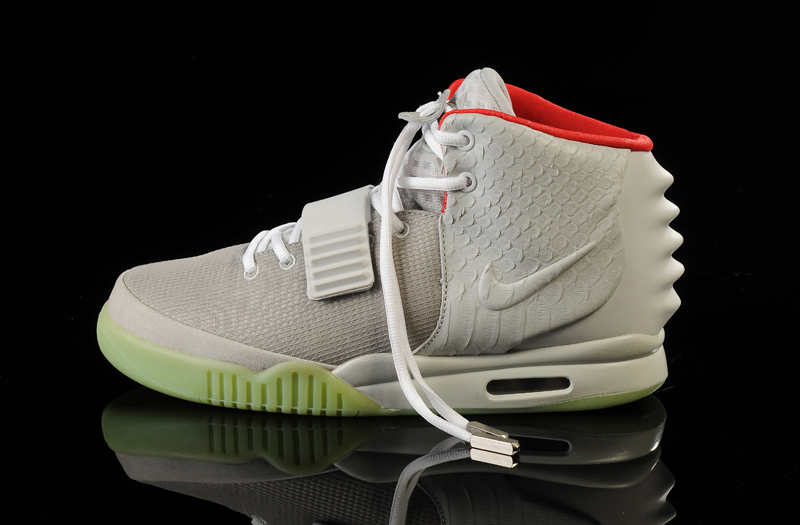 0034a796adf Discount Glow In The Dark Nike Air Yeezy 2  Wolf Grey Pure Platinum ...