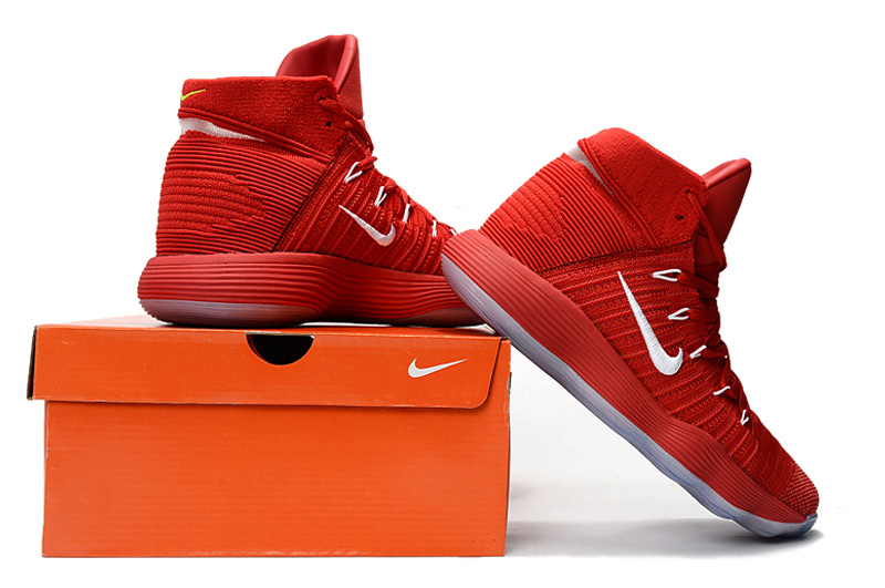 8387f5314f52 New Year Deals Nike REACT Hyperdunk 2017 University Red White