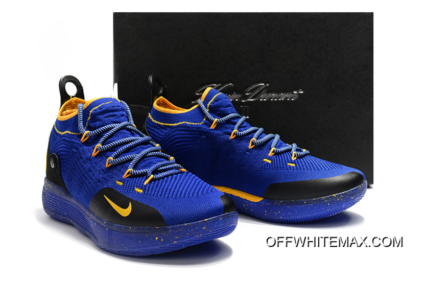 best website 4e2c8 2b872 Free Shipping Kevin Durant s New Nike KD 11 Purple Black Yellow Basketball  Shoes