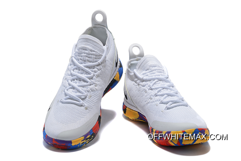 "80e8f6d6d862 Nike KD 11 ""NCAA March Madness"" White Multi-Color New Year Deals ..."