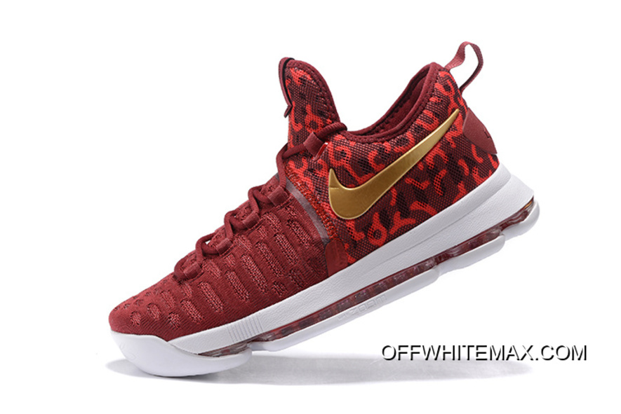 9b263c7dc715 Best Nike KD 9  Rio  Red Gold Men s Basketball Shoes