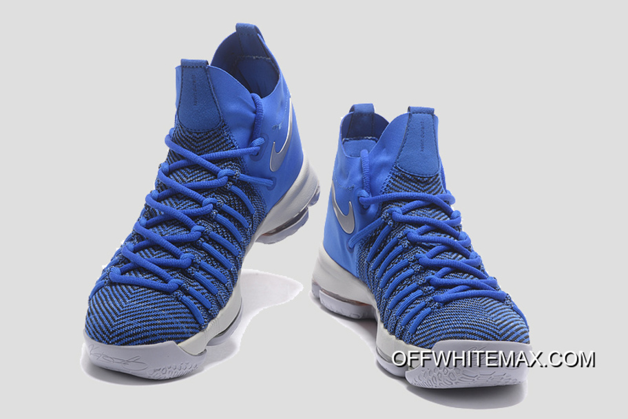 22ff0316a97d New Style Nike KD 9 Elite  Golden State Warriors  PE Blue Silver ...