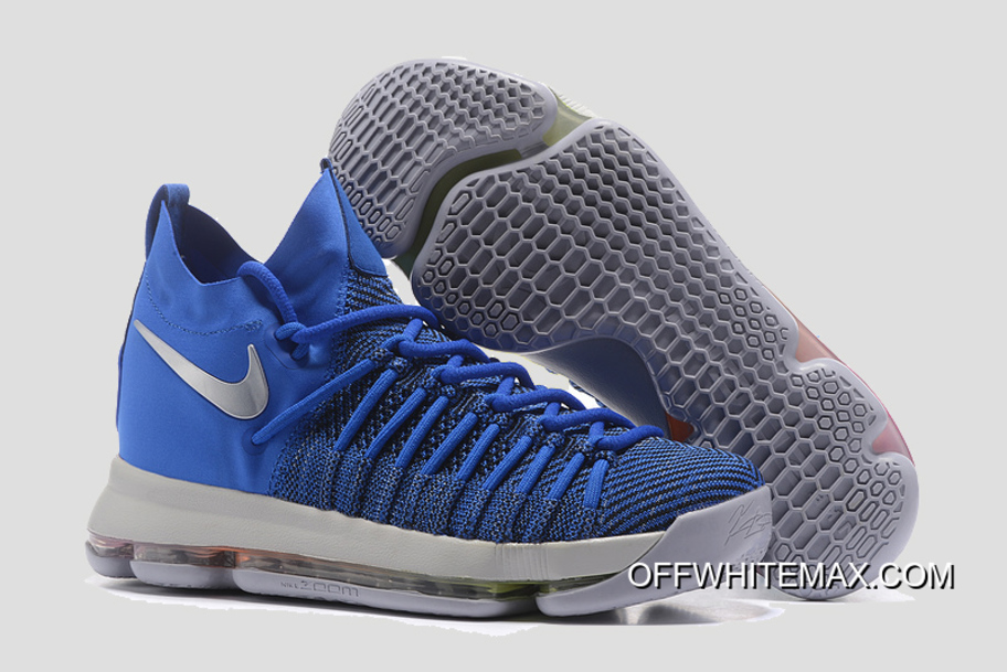 best service a2c35 fc3f7 New Style Nike KD 9 Elite  Golden State Warriors  PE Blue Silver