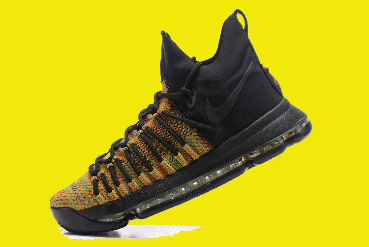 88def7c590e0 Nike KD 9 Elite  Multicolor  Multi-Color And Black-Volt Outlet ...